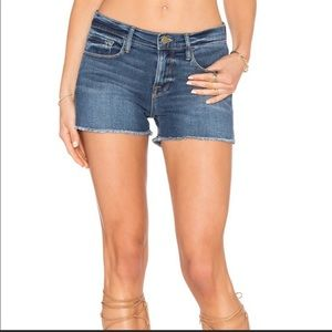 Frame Denim Le Cutoff Medium Wash Shorts Size 24